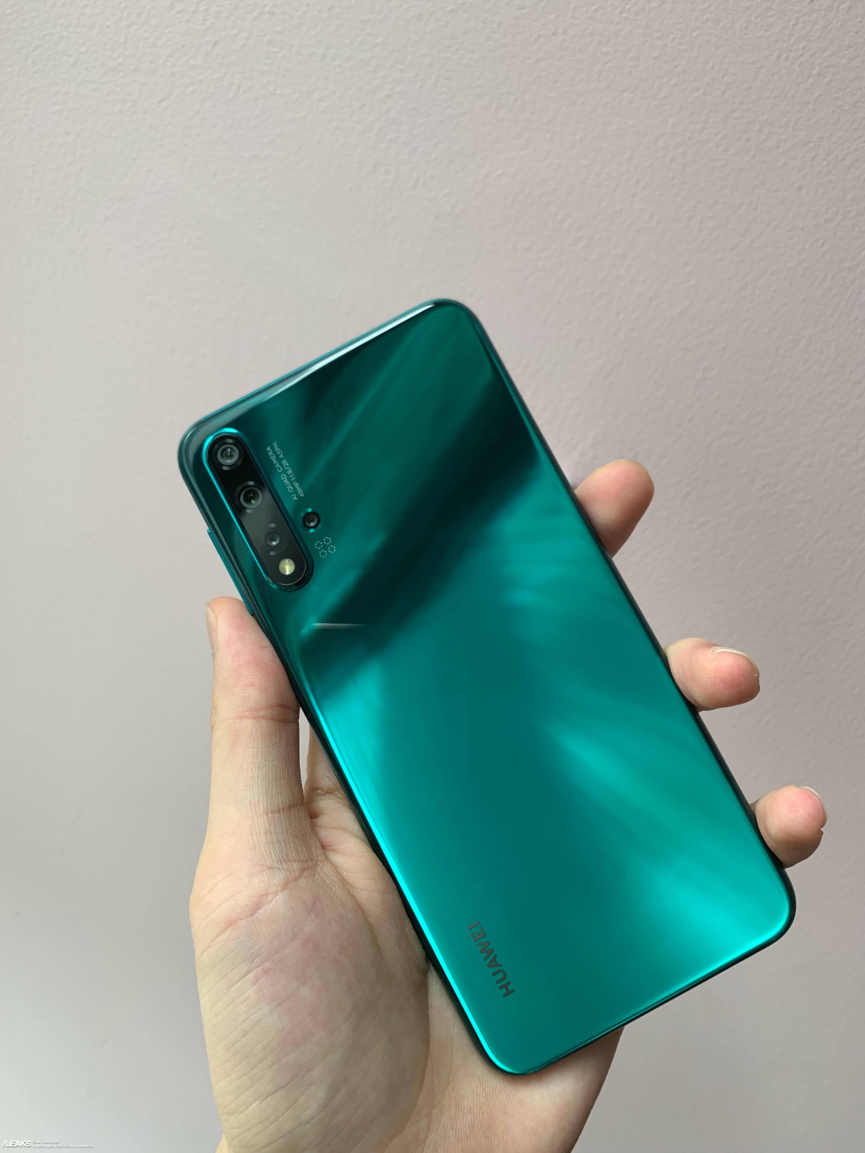 img More Huawei Nova 5 Pro Real Life Images Leaked