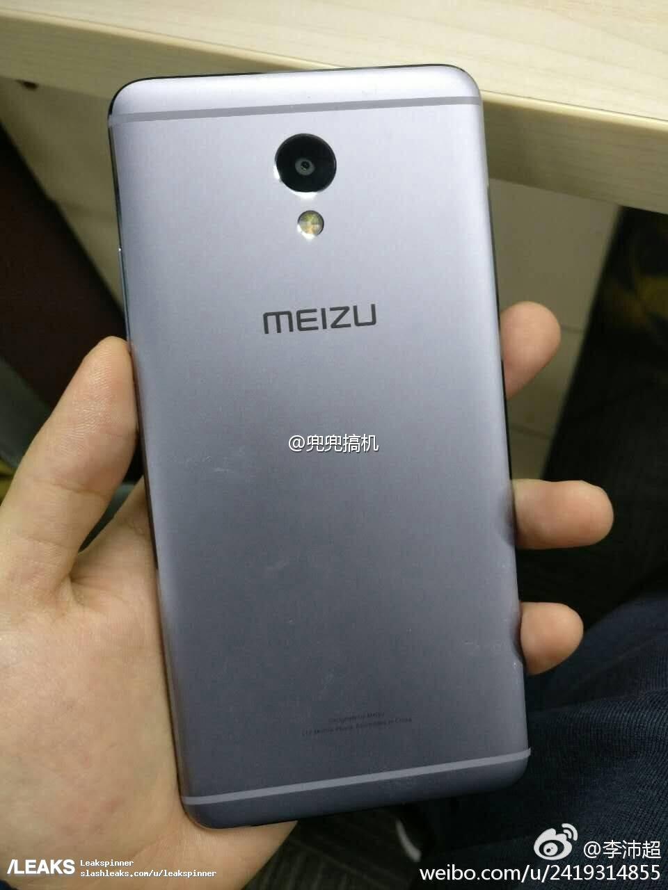 img Last minute leak shows Meizu M5 Note in the flesh