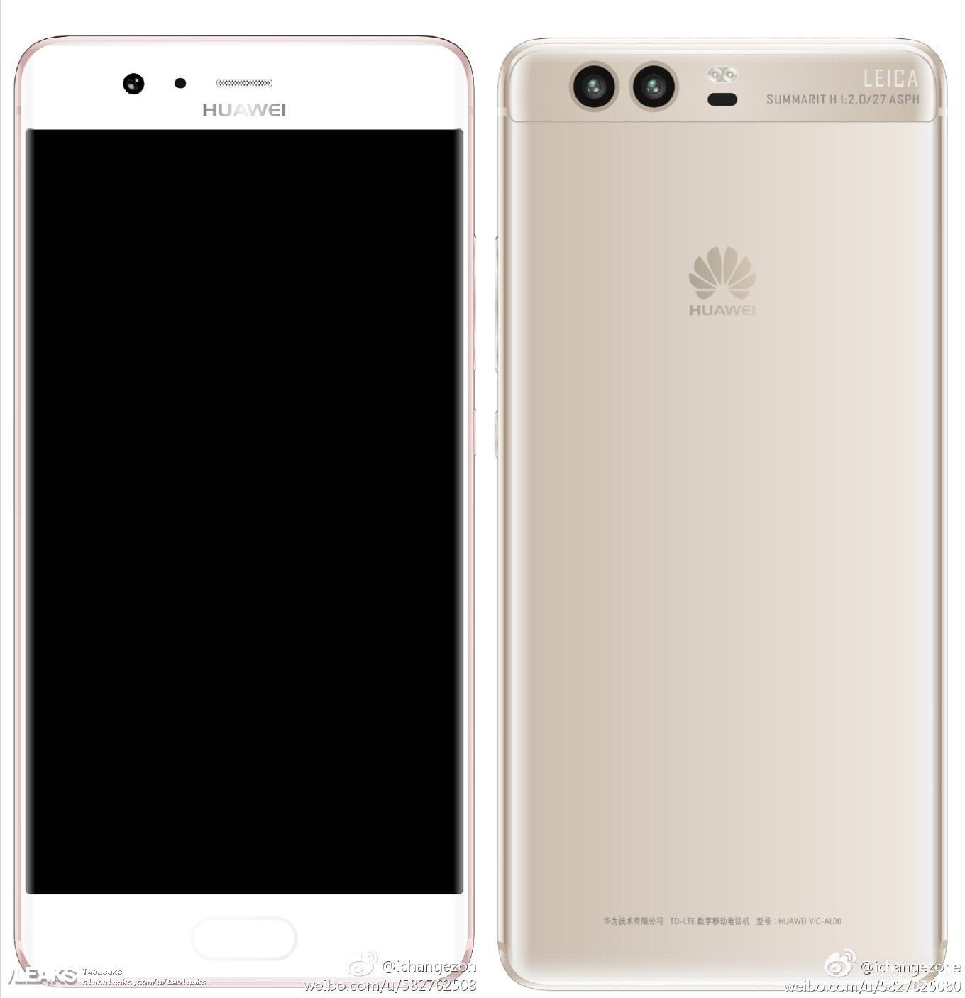 img More alleged Huawei P10 leaked renders