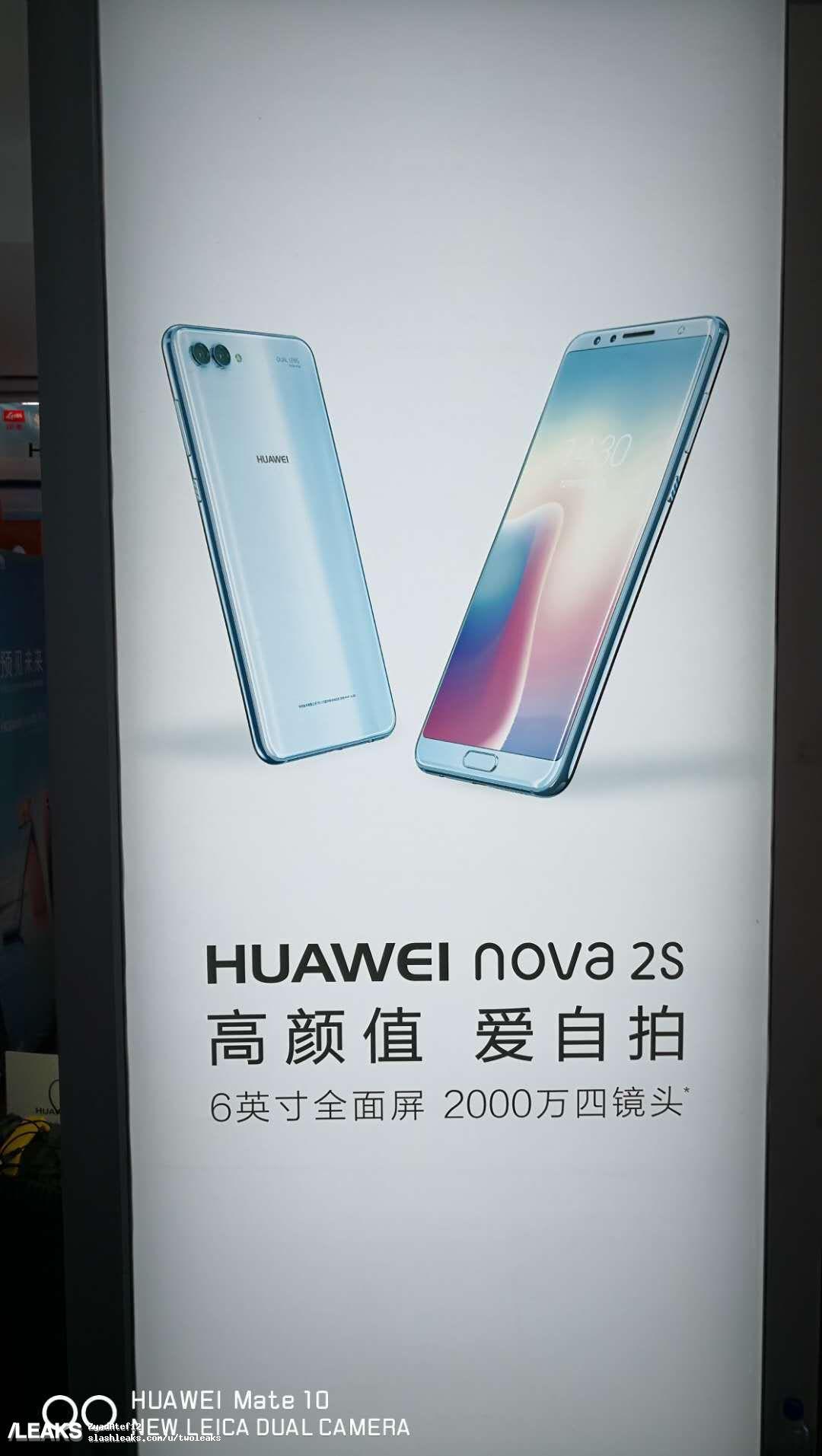img Huawei Nova 2s posters + more live pics