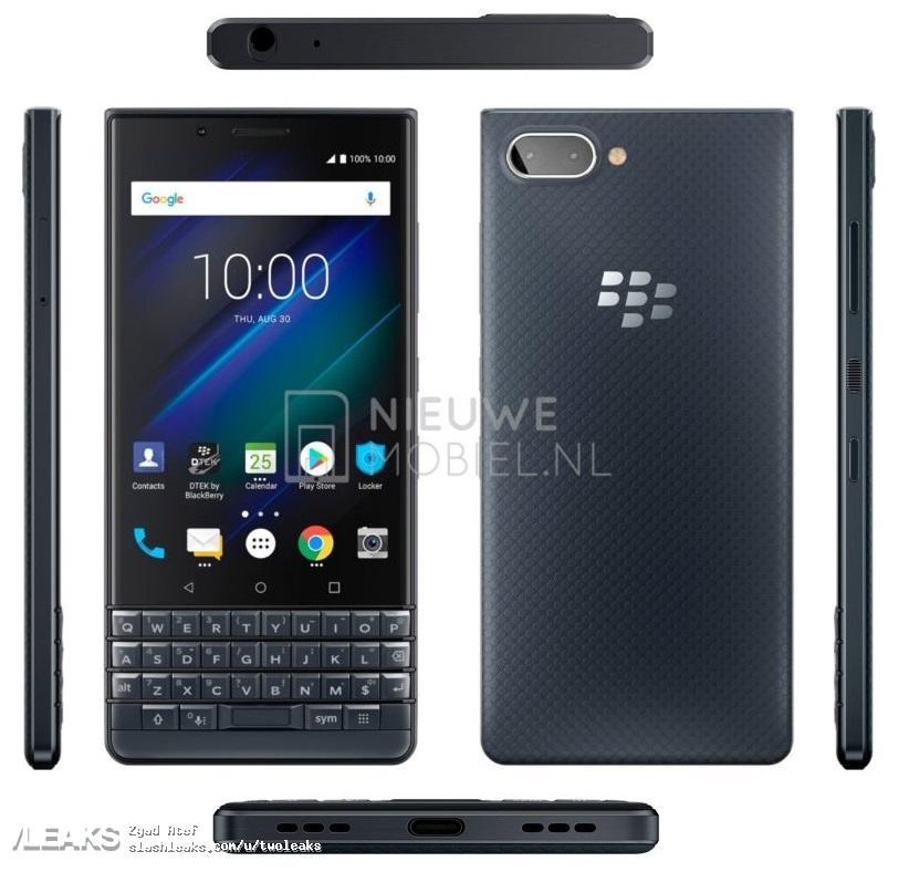 img BlackBerry KEY2 LE press renders leaked