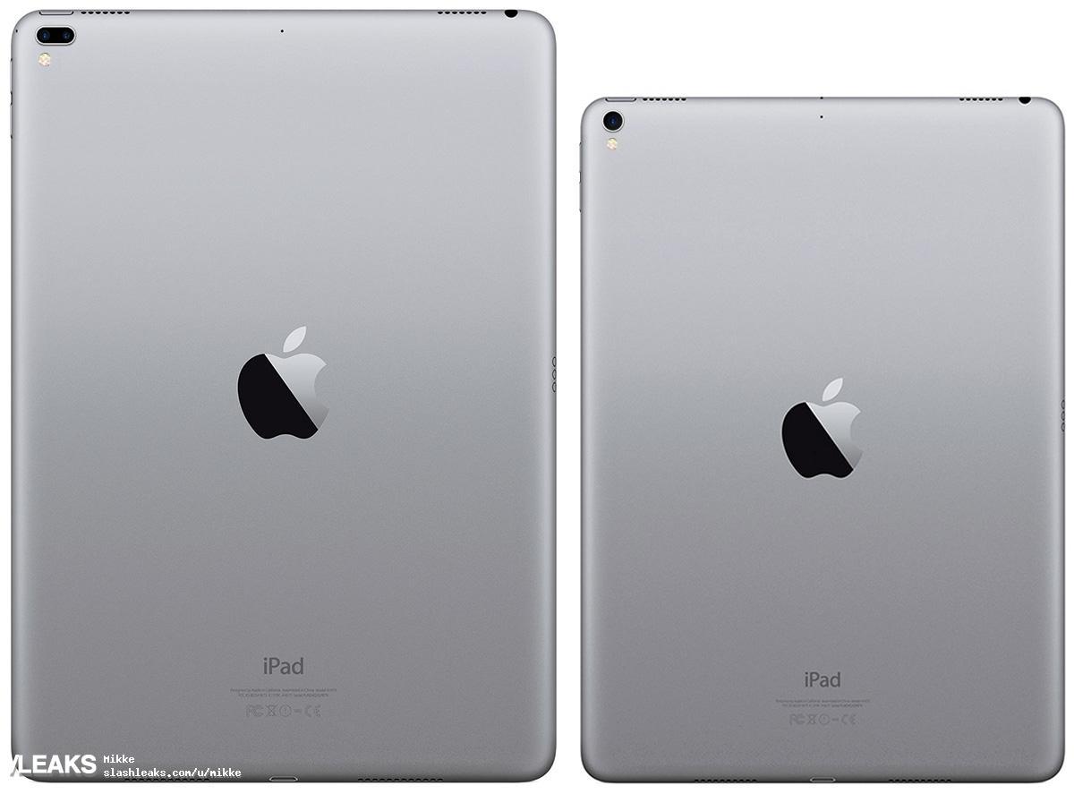 img iPad Pro 12.9 + iPad Pro 10.1 (2017) renders