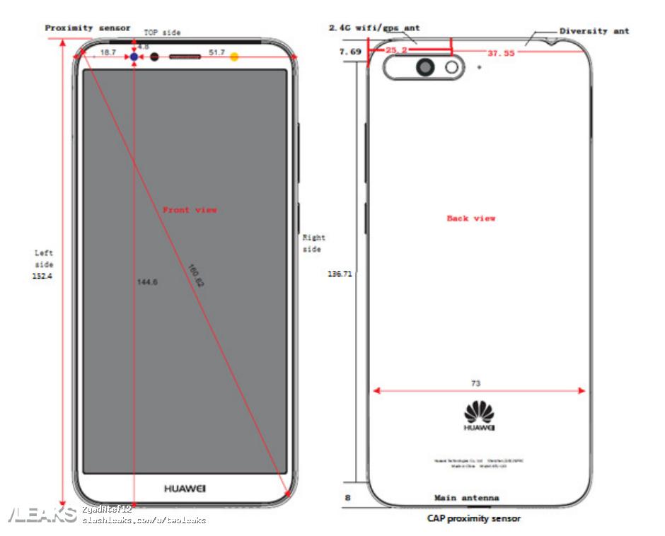 img Huawei ATU-TL10 schematics + specs (TENAA + FCC) [UPDATED: Honor Y6]