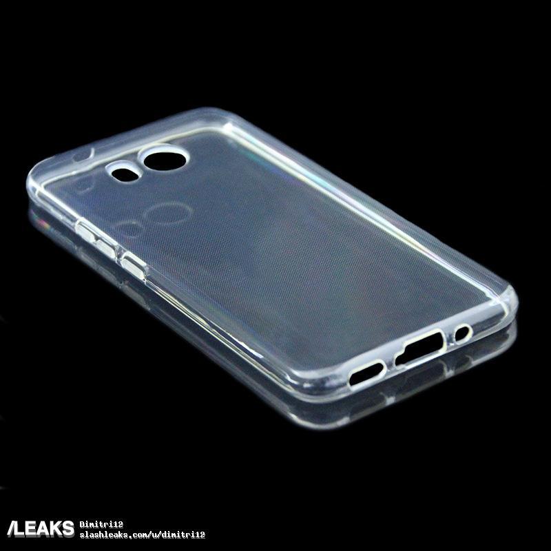 img HTC U (Ocean) protective case reveals top and bottom frames arrangement