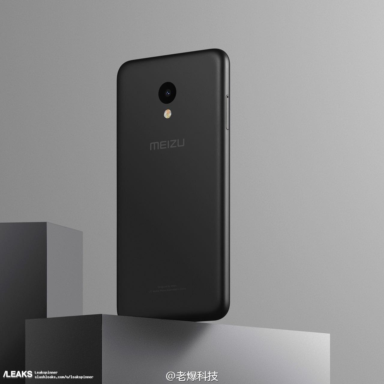 img Alleged Meizu M5 press render leaked