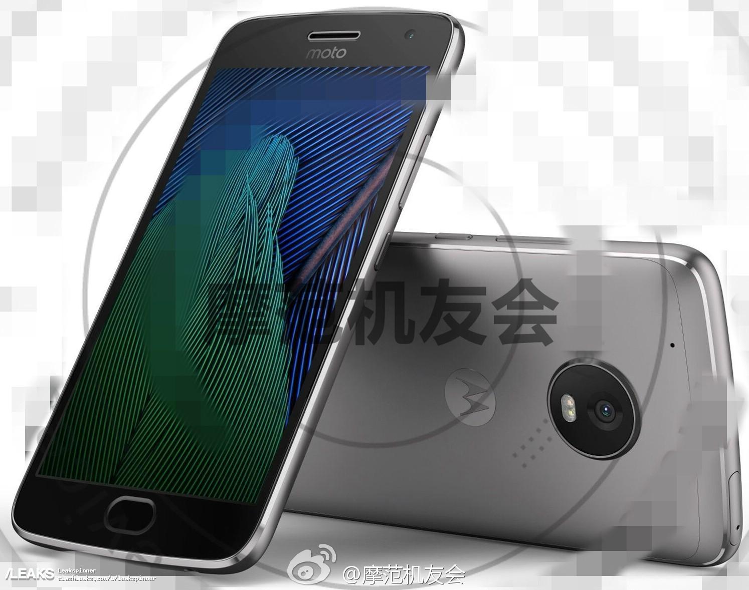 img Moto G5 Plus press render leaks out