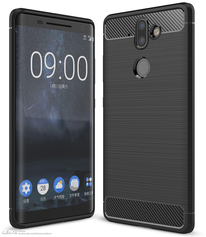 img Nokia 9 design leaked via cases on Amazon UK [UPDATED: Nokia 8 Sirocco]