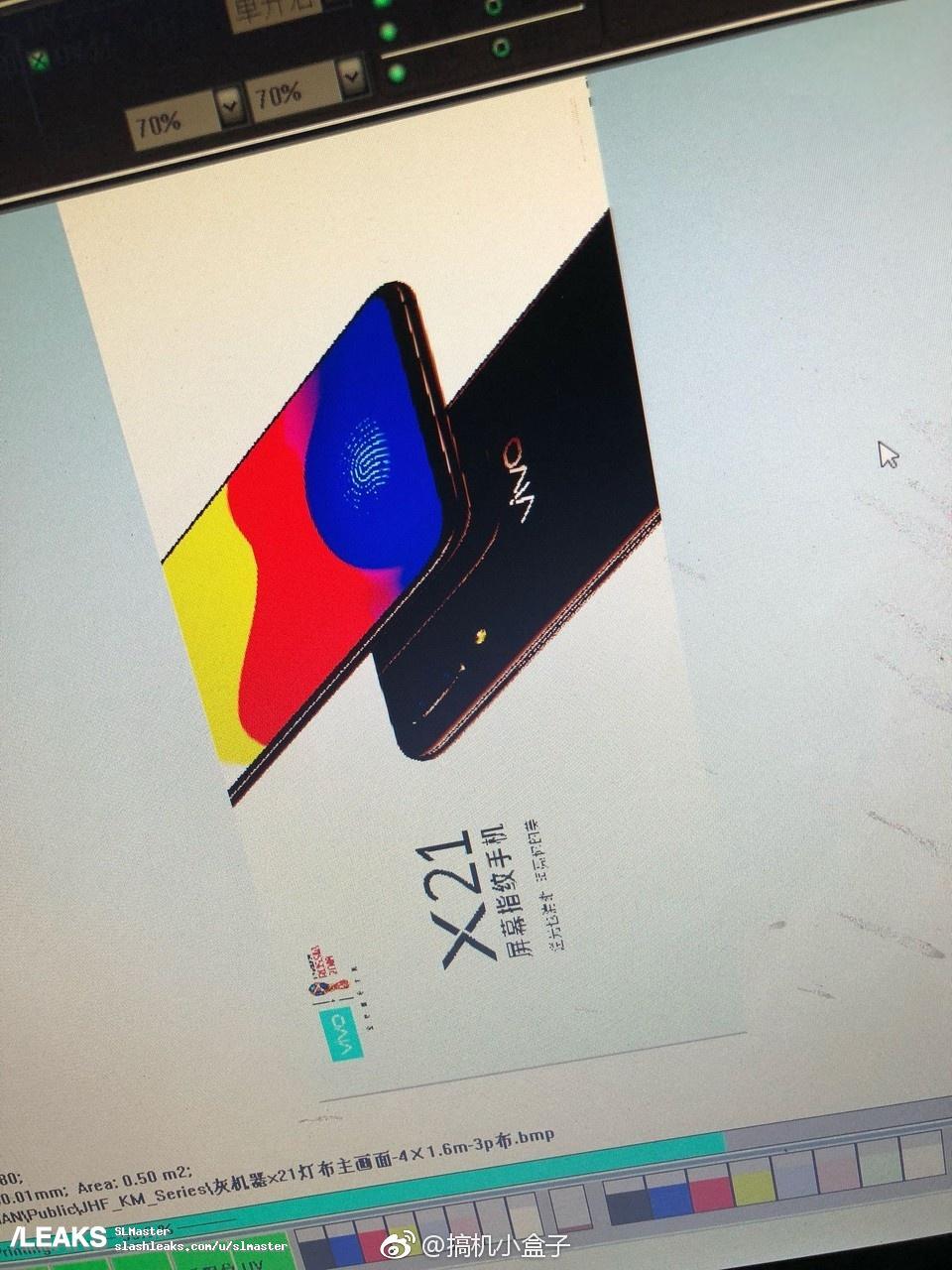 img Vivo X21 render