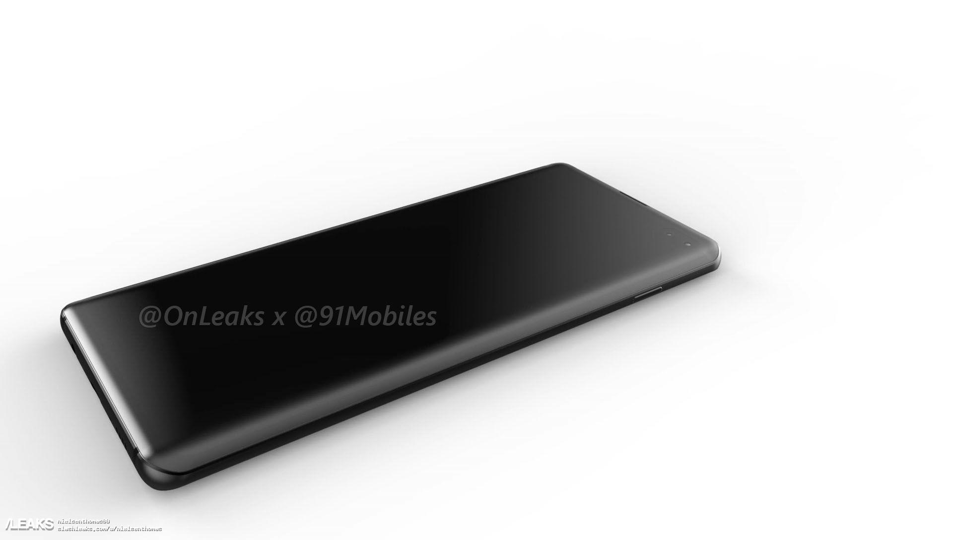 img Samsung Galaxy S10 Plus CAD, 5K Renders & Video Leaked