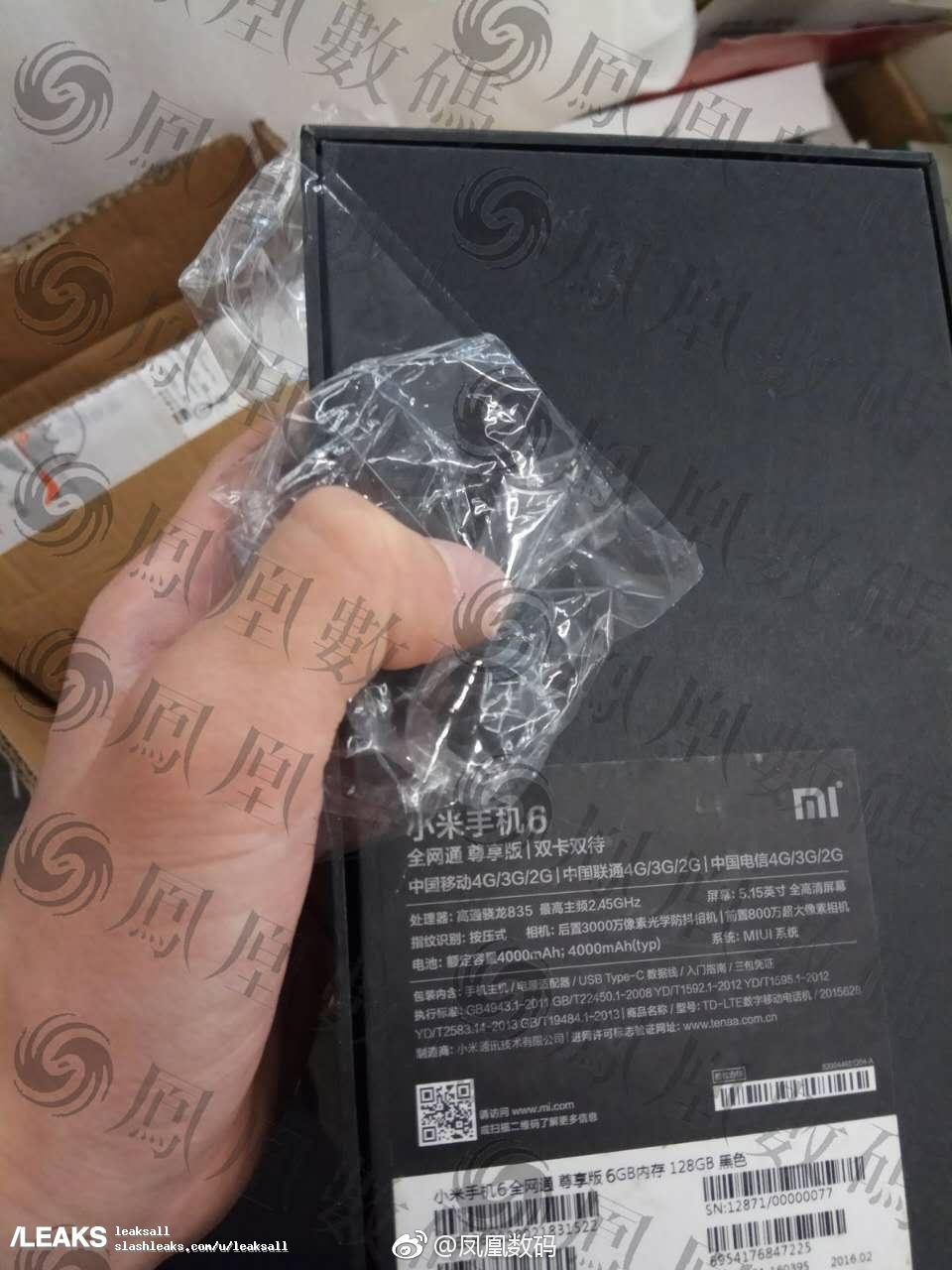 img Mi 6 Box Leaked New Image.