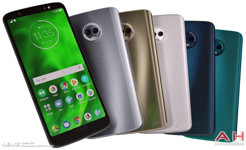 img Motorola Moto G6 Plus color option revealed in leaked press render