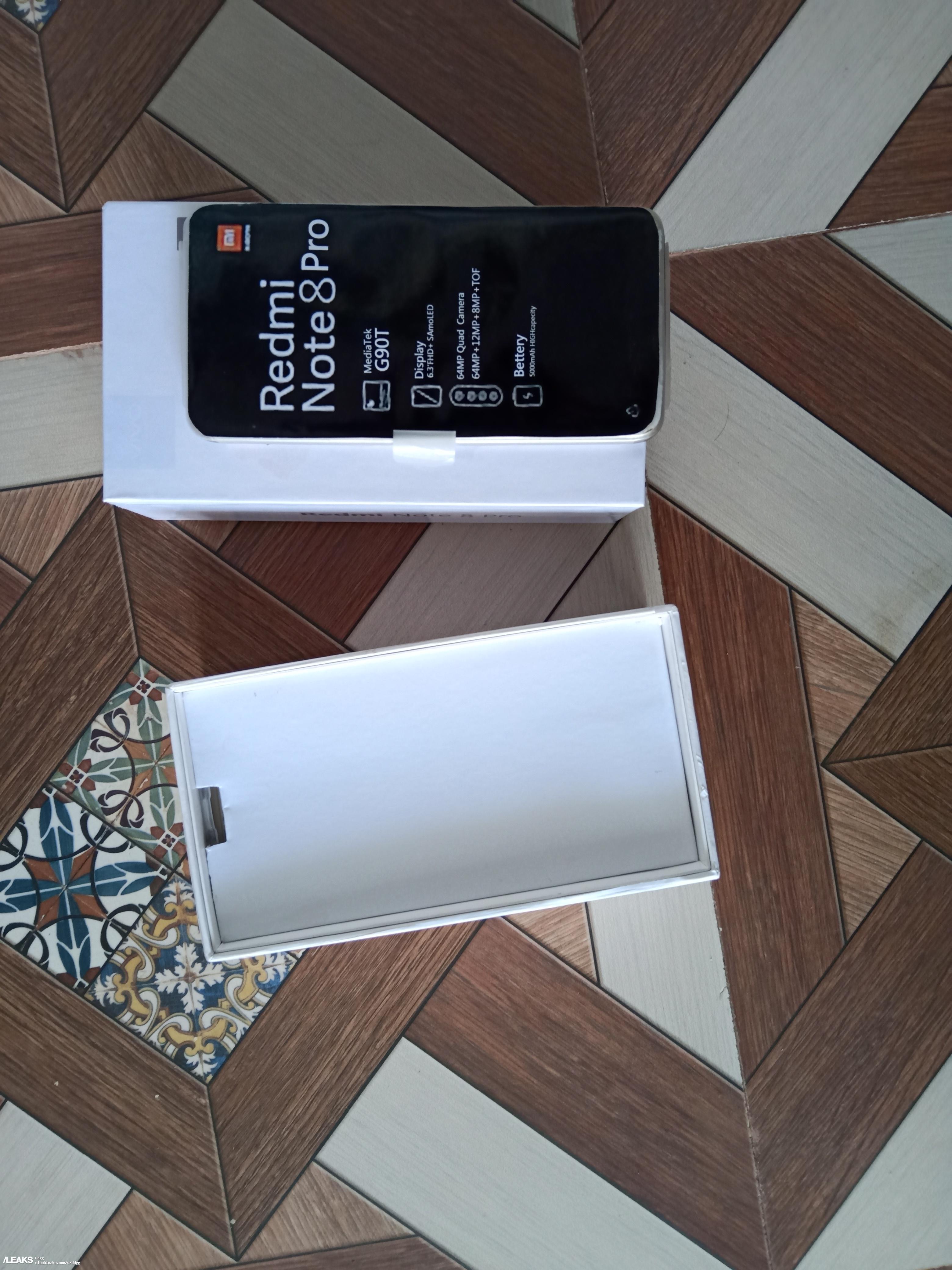 Alleged Redmi Note 8 pro box and key specs leaked « SLASHLEAKS
