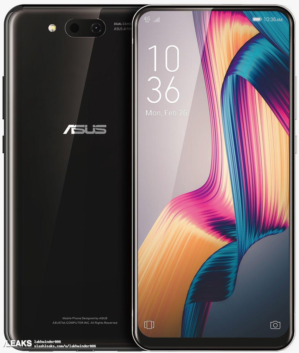 img ASUS Zenfone 5G dual slider Render