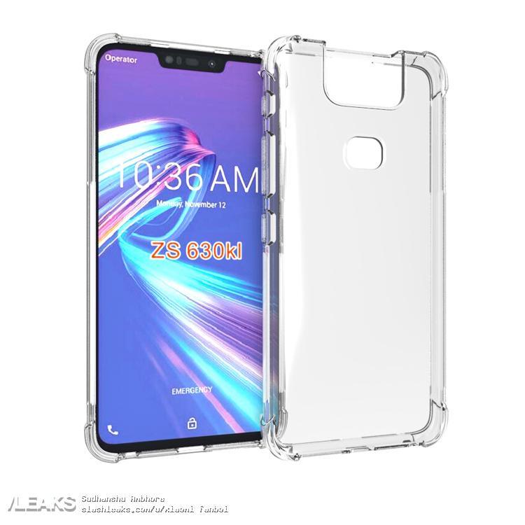 img Asus ZenFone 6 case renders leaked
