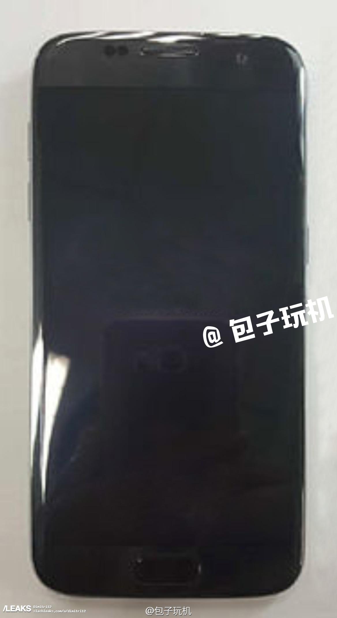 img Samsung Galaxy S7 edge leaks in black