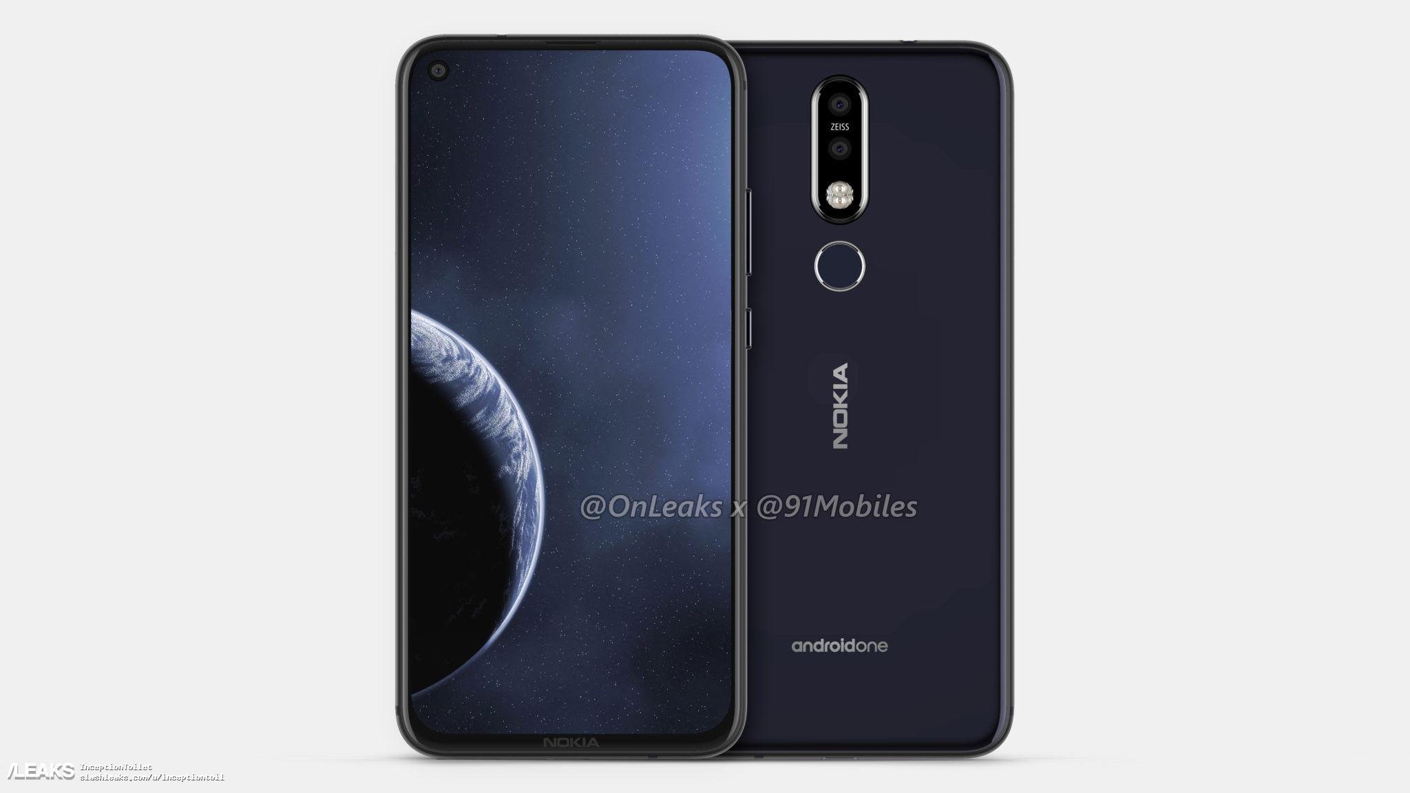 img Nokia 8.1 Plus renders