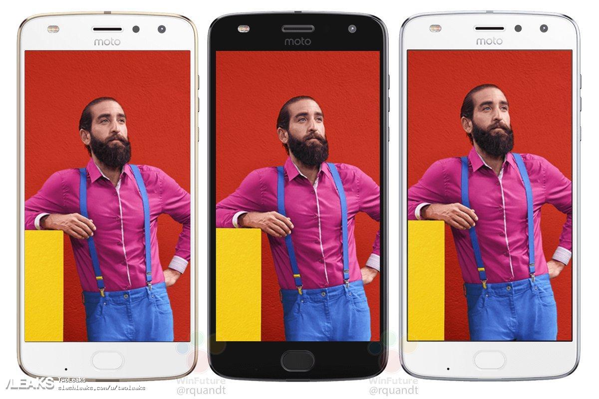 img Moto Z2 Play renders leaked in three colors