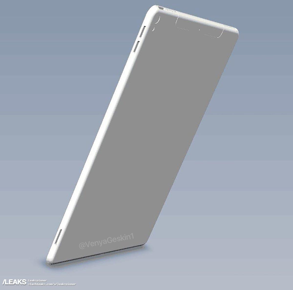img 10.5-inch iPad Pro CAD and dummy leaked