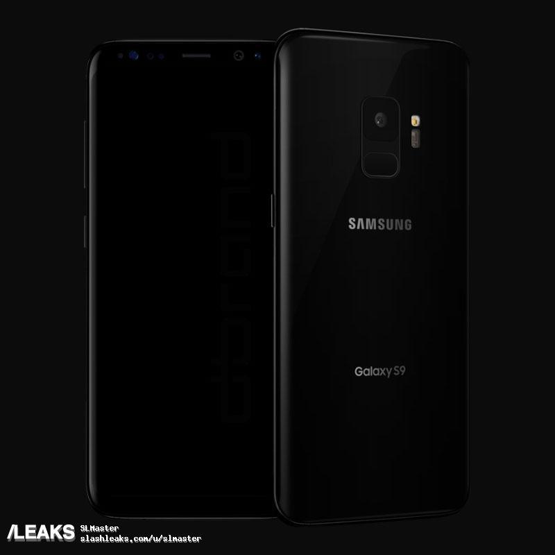 img Galaxy S9 & S9+ Renders Leaked by Dbrand