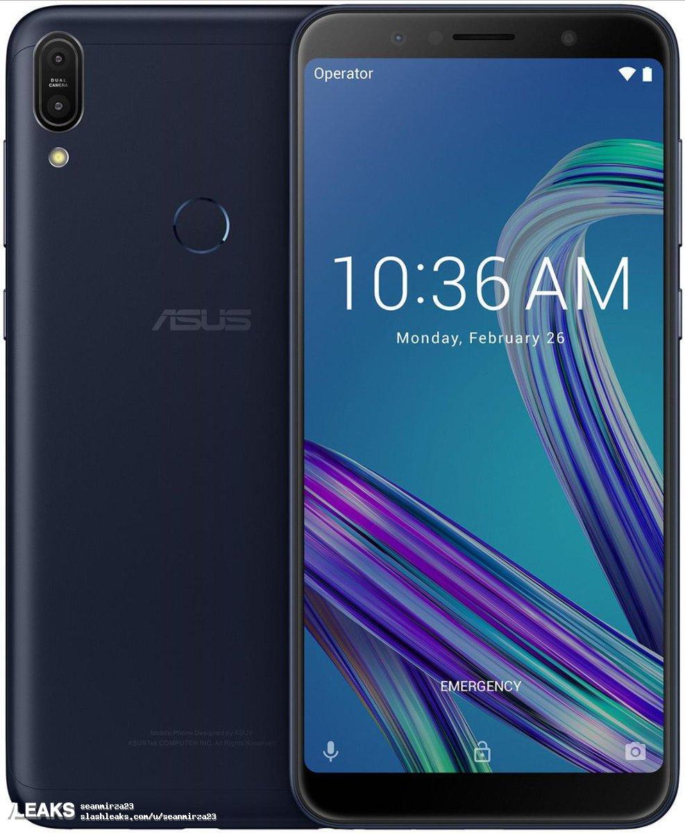 img Asus Zenfone Max Pro M1 renders