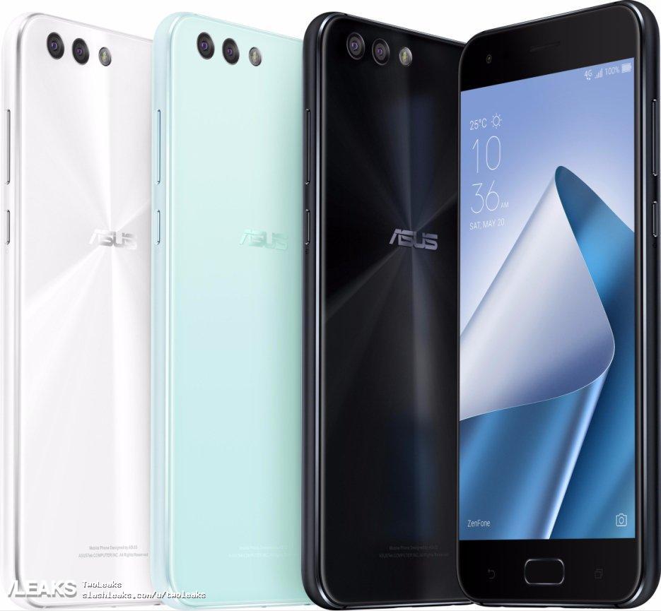 img ASUS Zenfone 4, Zenfone 4 Max (5.2-inch) , Zenfone 4 Selfie/Pro leaked by Evan Blass