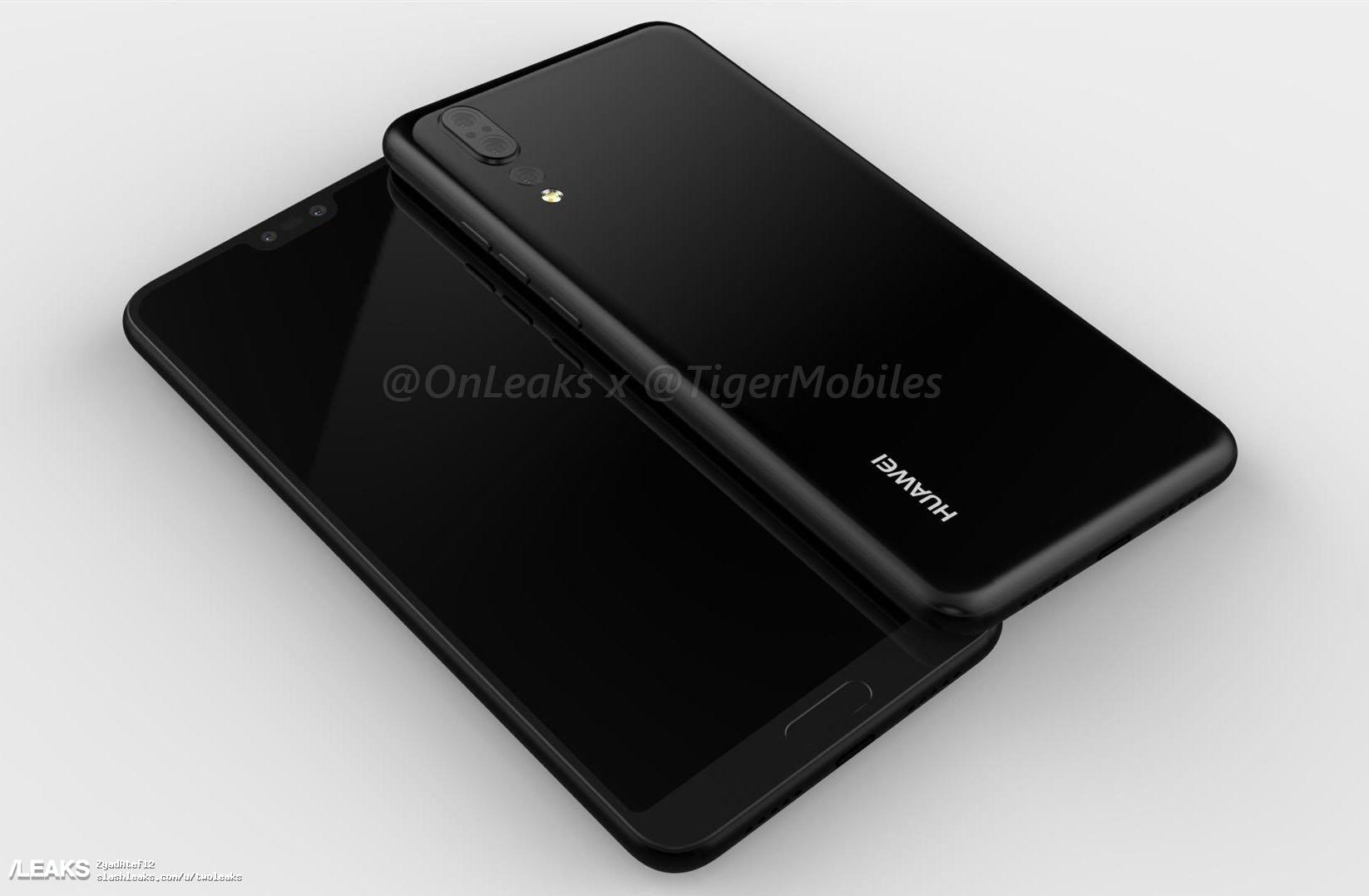 img Huawei P20 360 video + dimensions by OnLeaks