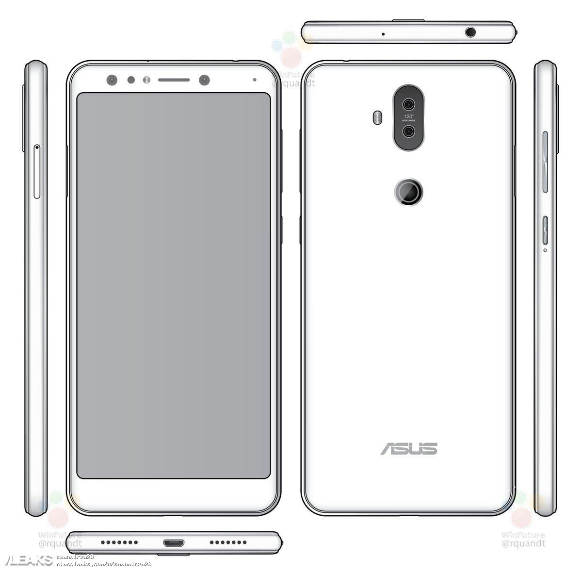img ASUS ZenFone 5 Lite (ZC600KL/X017DA) render leaked