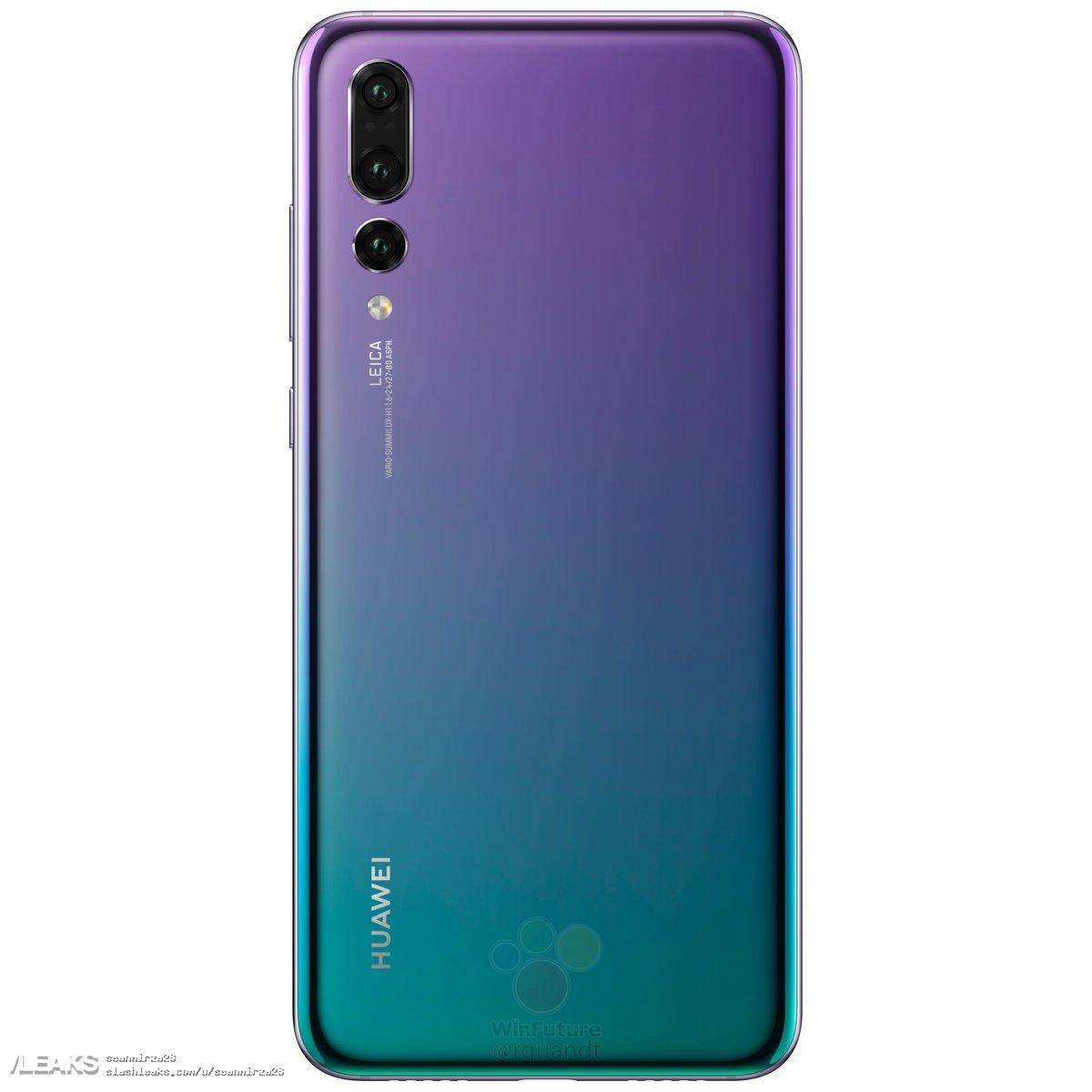 img Huawei P20 PRO Renders