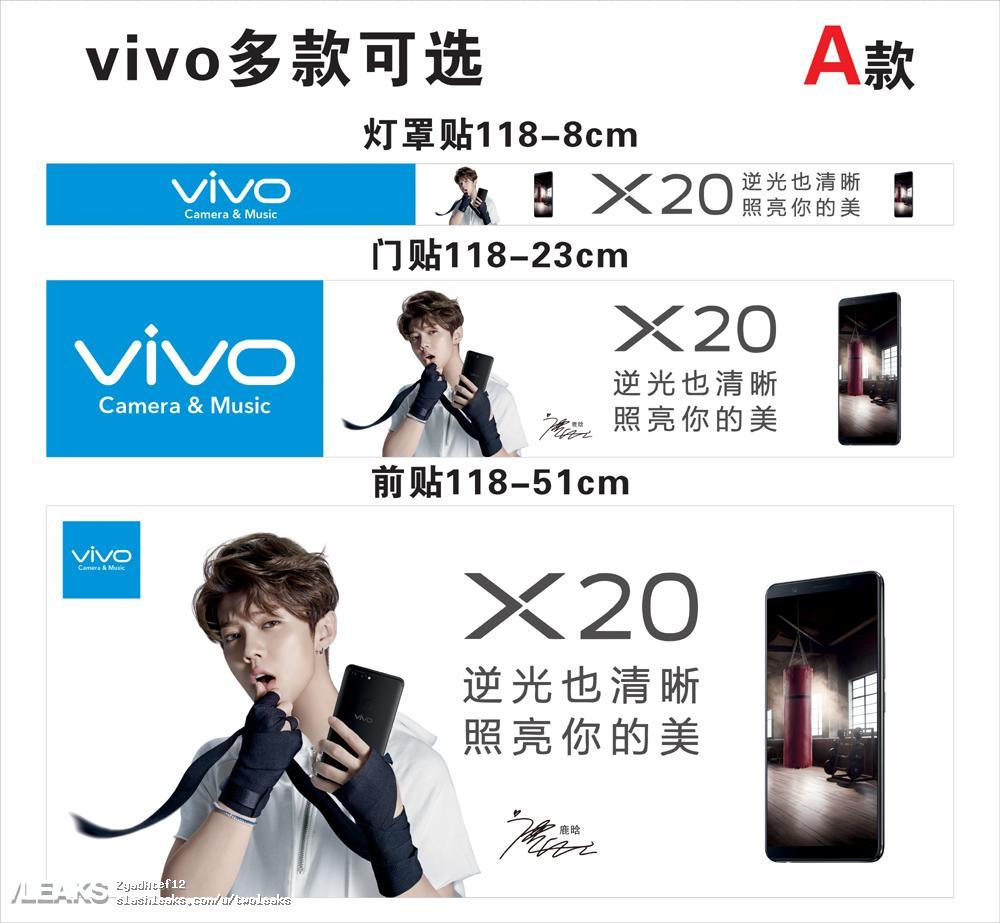 img Vivo X20 posters + more live pics + screenshot