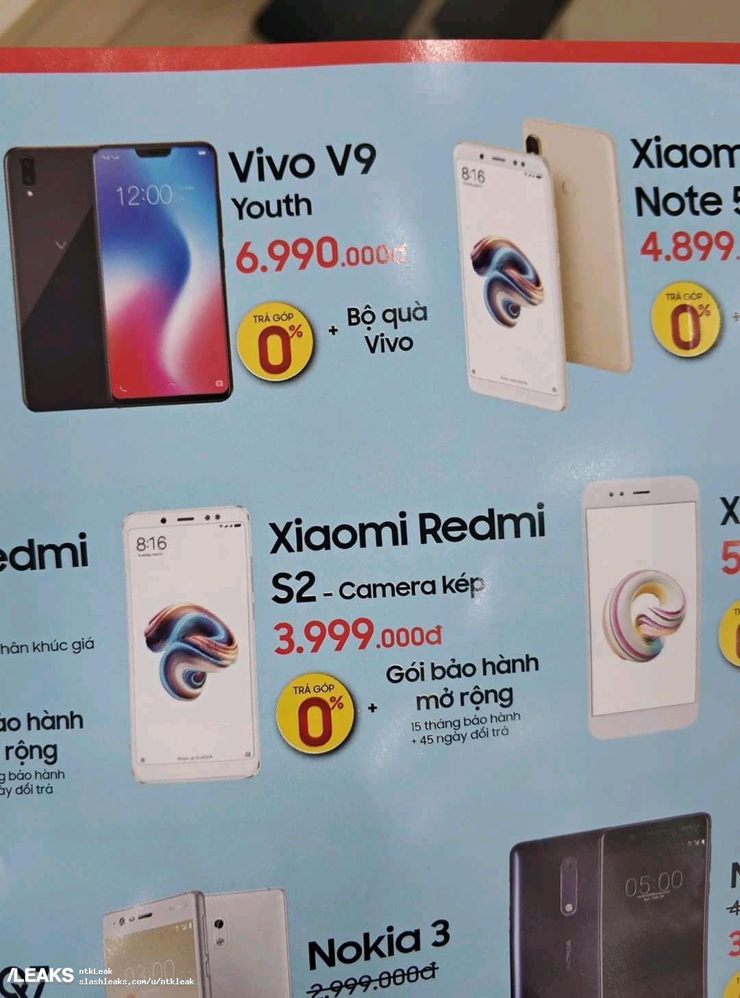 img Price Redmi S2 in VN