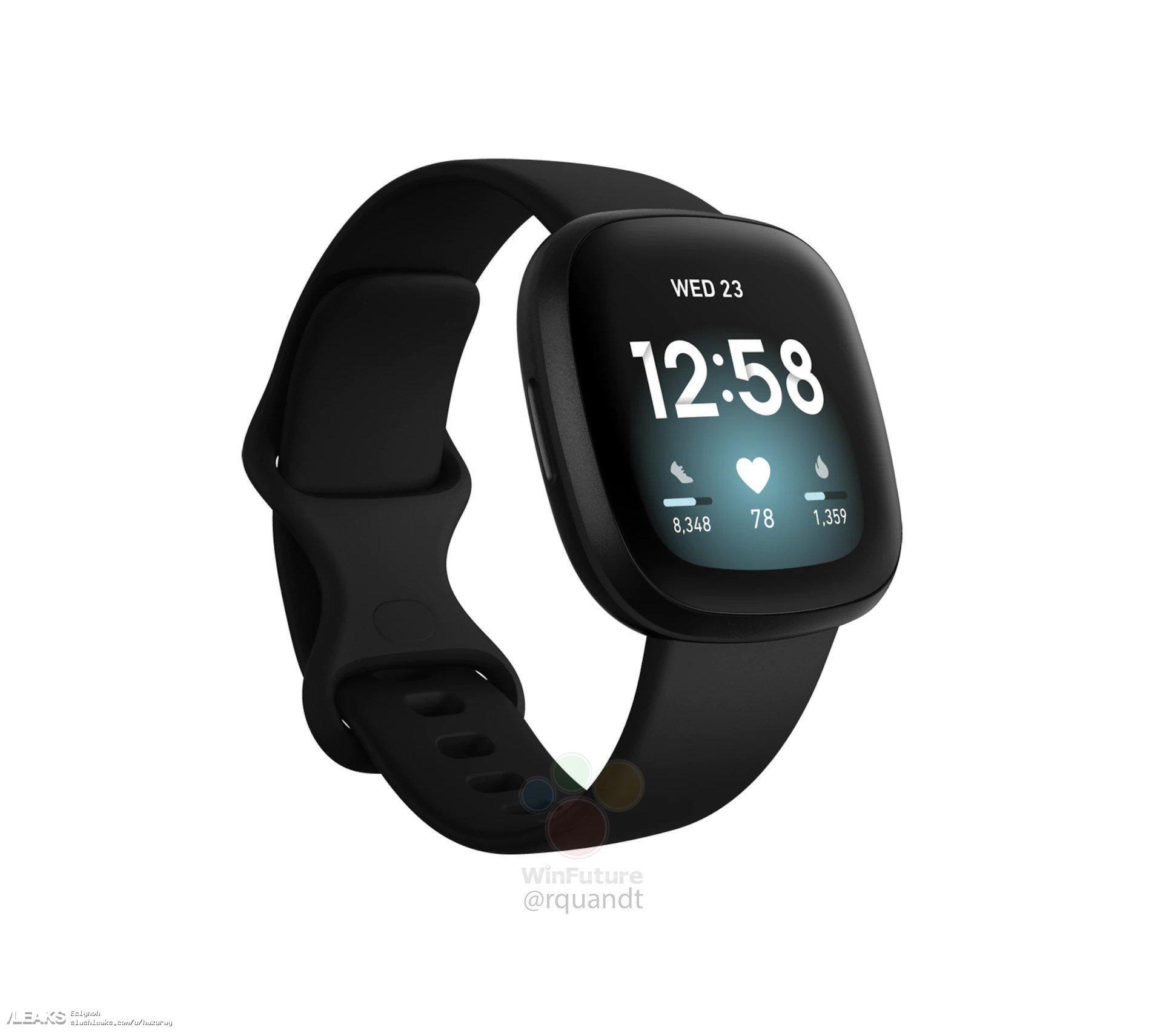 img Fitbit Versa 3 Official Renders