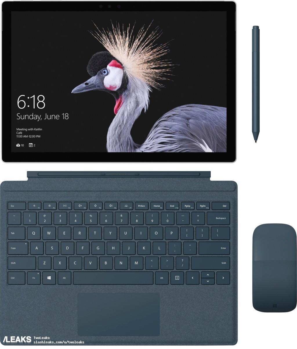 img Microsoft Surface Pro 4 refresh press renders leaked