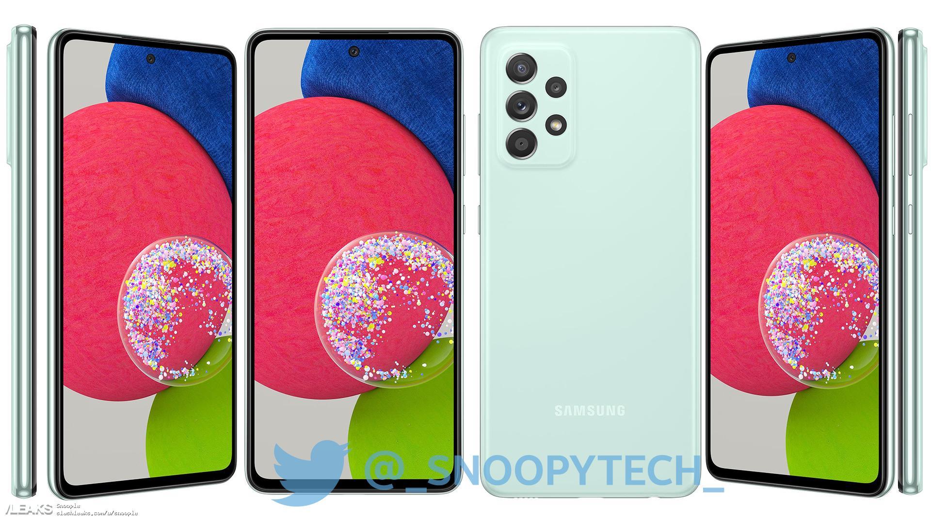 img Galaxy A52s Renders
