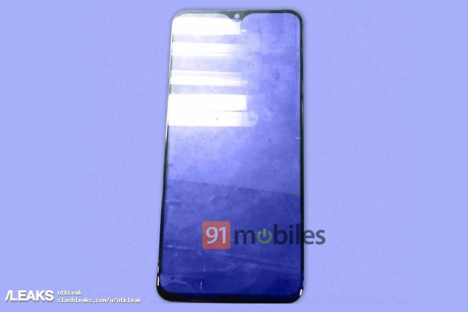 img Galaxy M20 front panel leak