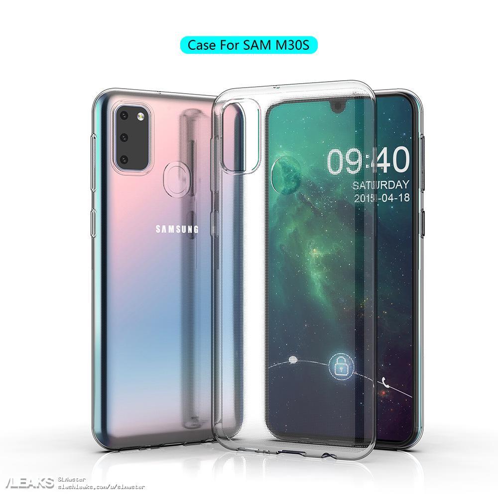 img Galaxy M30s case renders