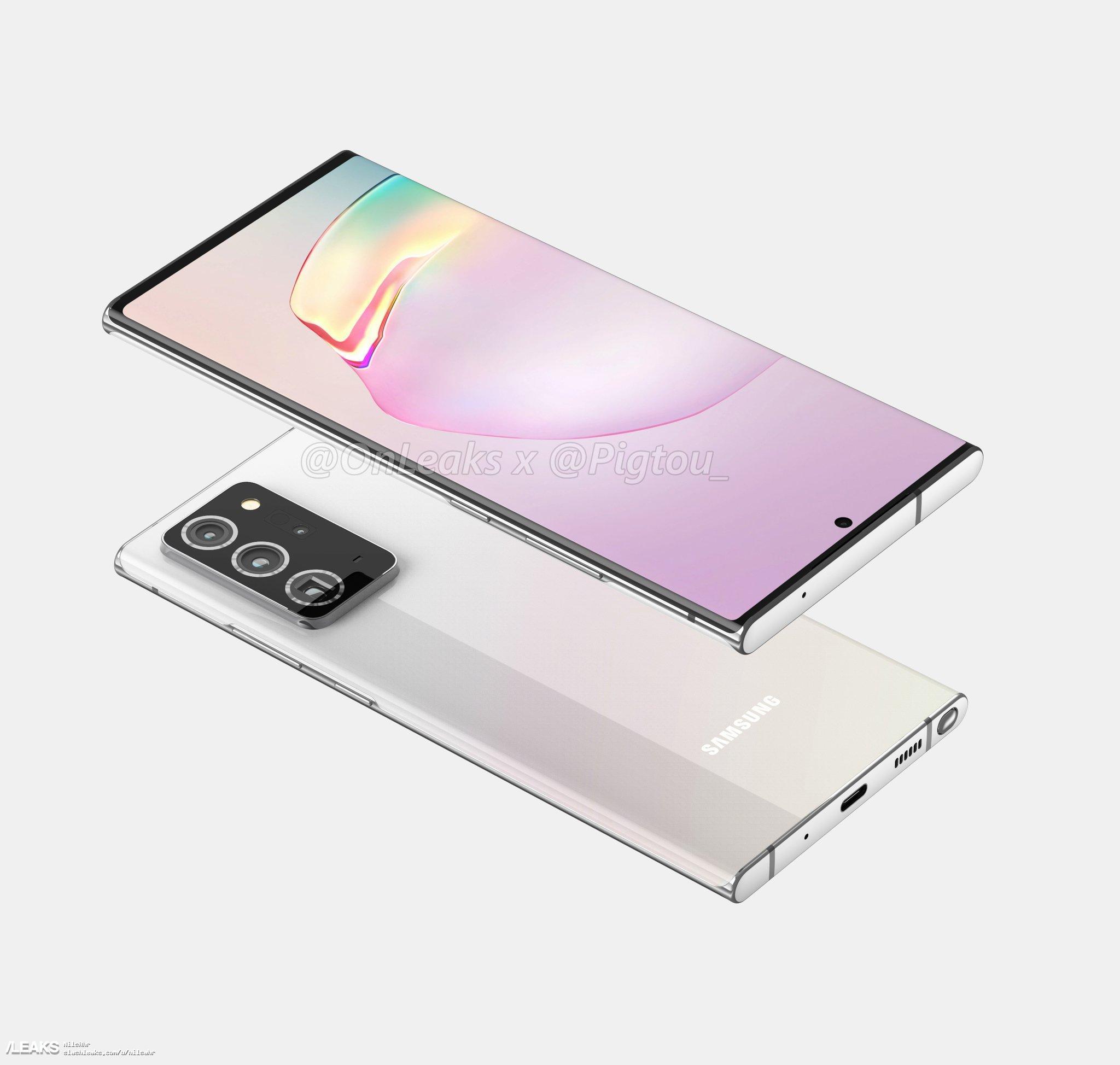 img Galaxy Note 20+ by Onleaks
