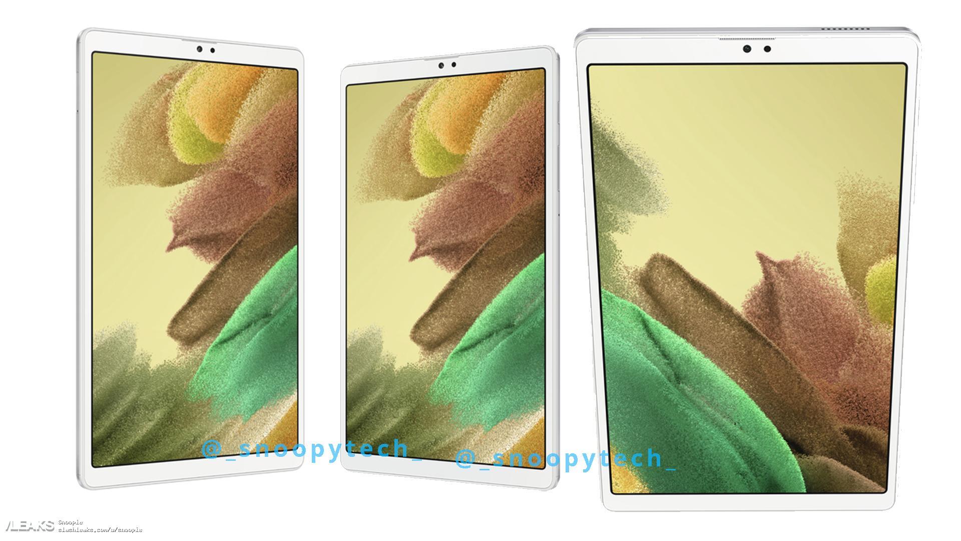img Galaxy Tab A7 Lite: All Information + Renders