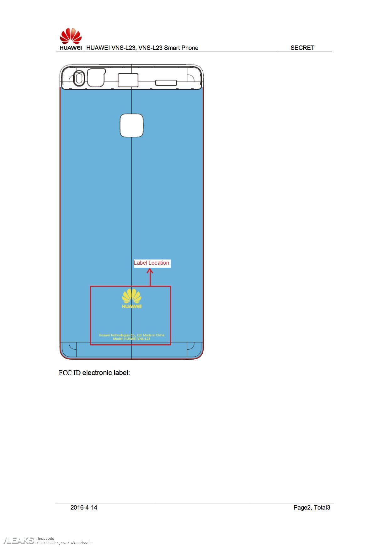 img Huawei P9 Lite passes through FCC [UPDATED: Huawei G9]