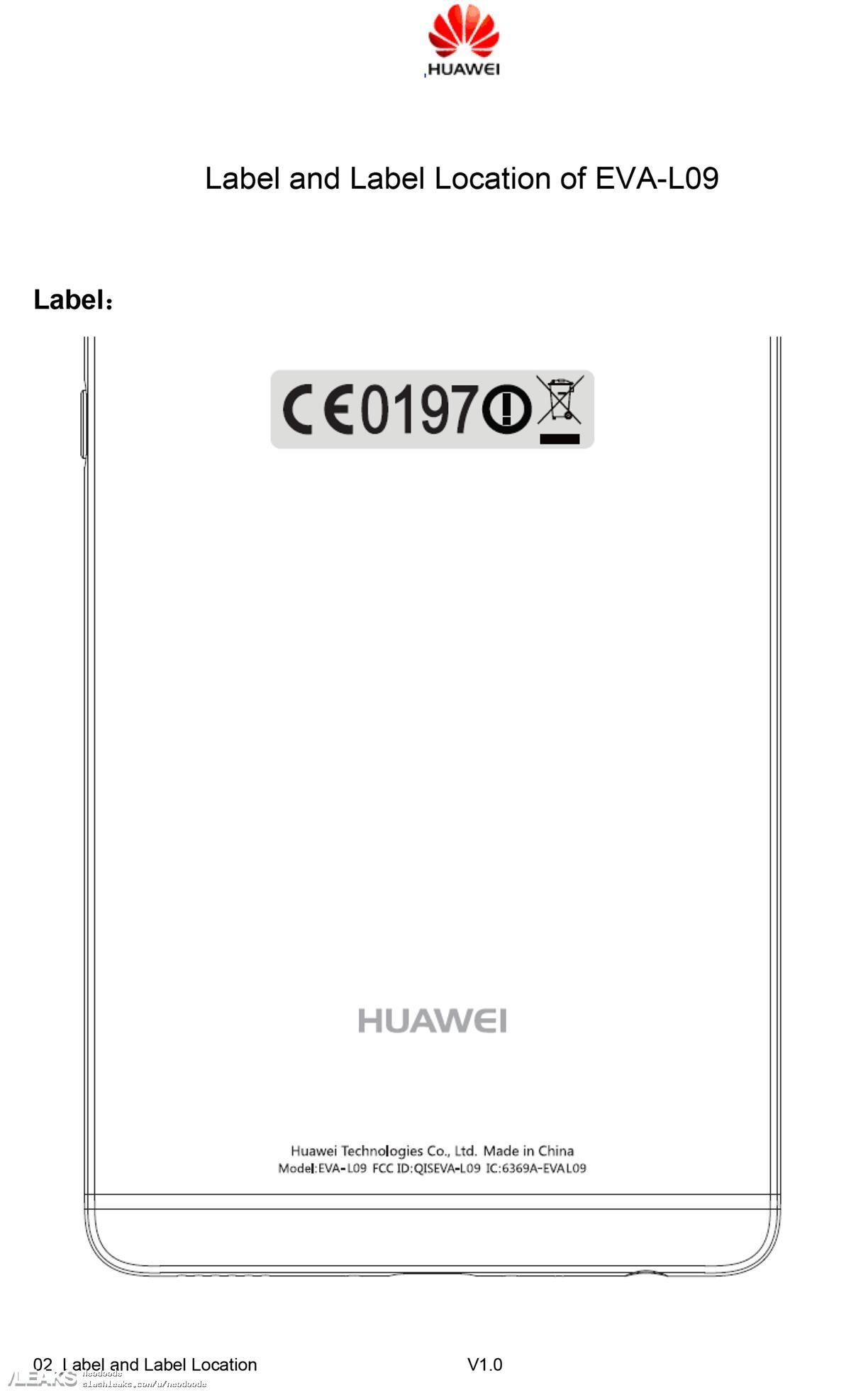 img Huawei P9 passes through FCC