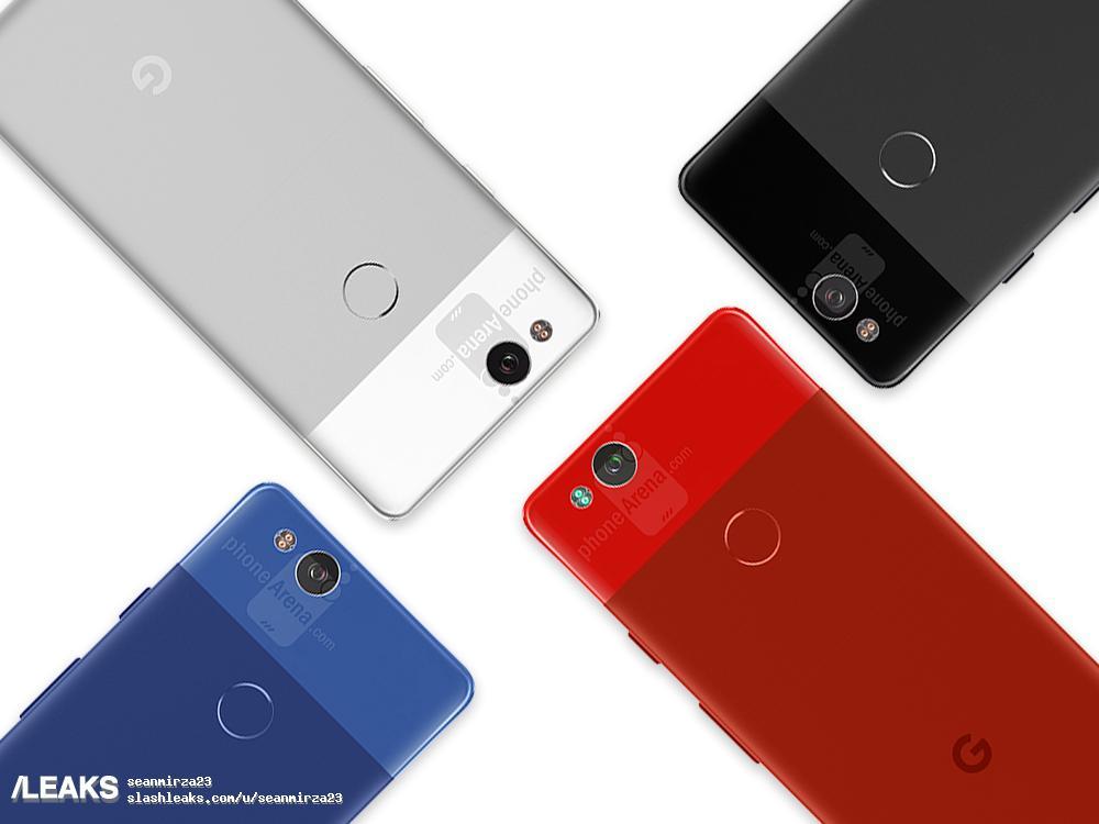 img Google Pixel 2 renders