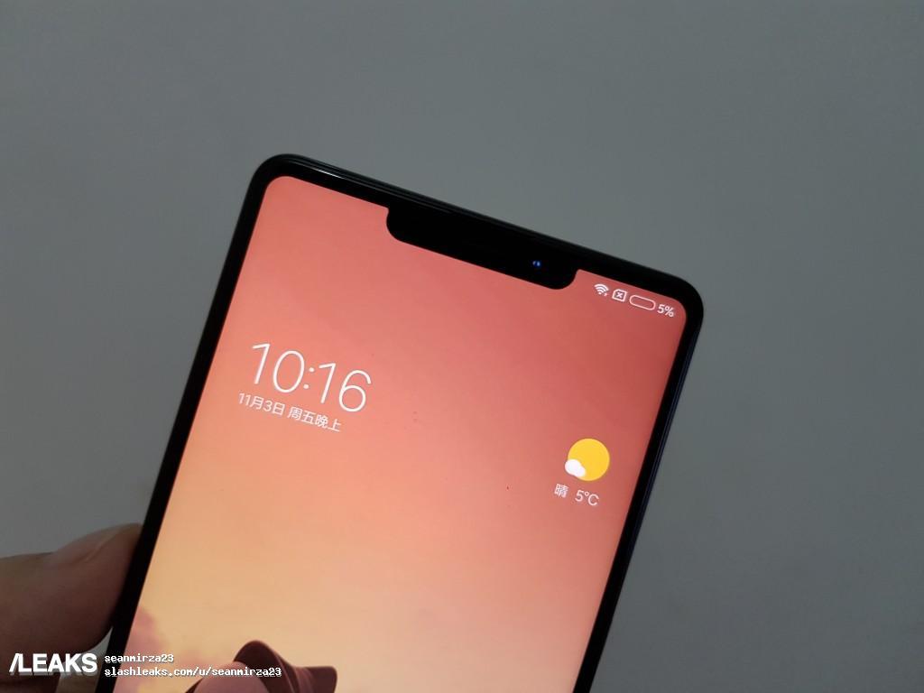 img Xiaomi Mi Mix 2s with iPhone X Notch Design