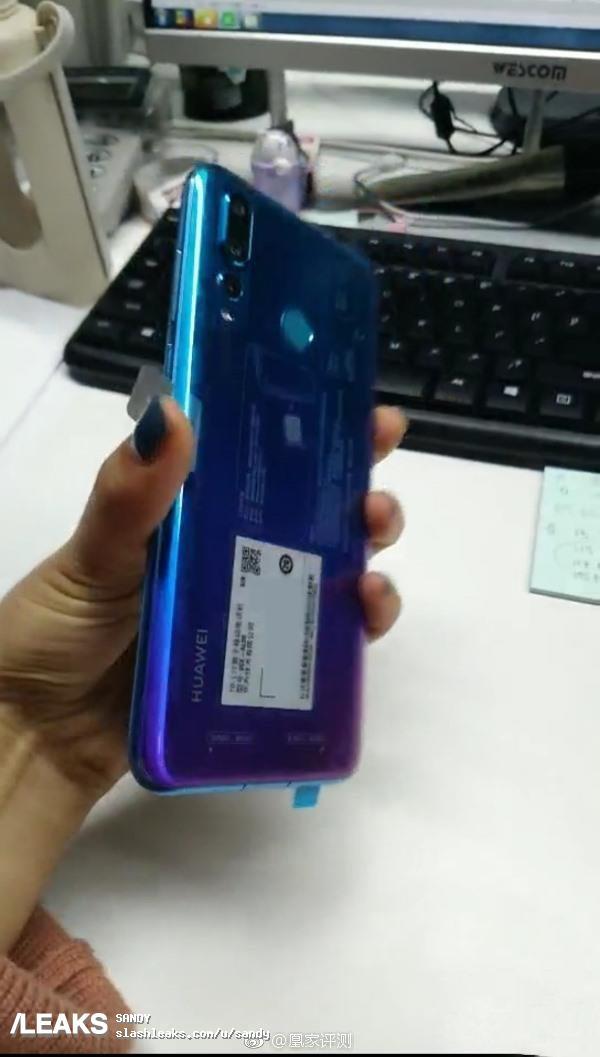 Huawei Nova 4 появился на реальных изображениях
