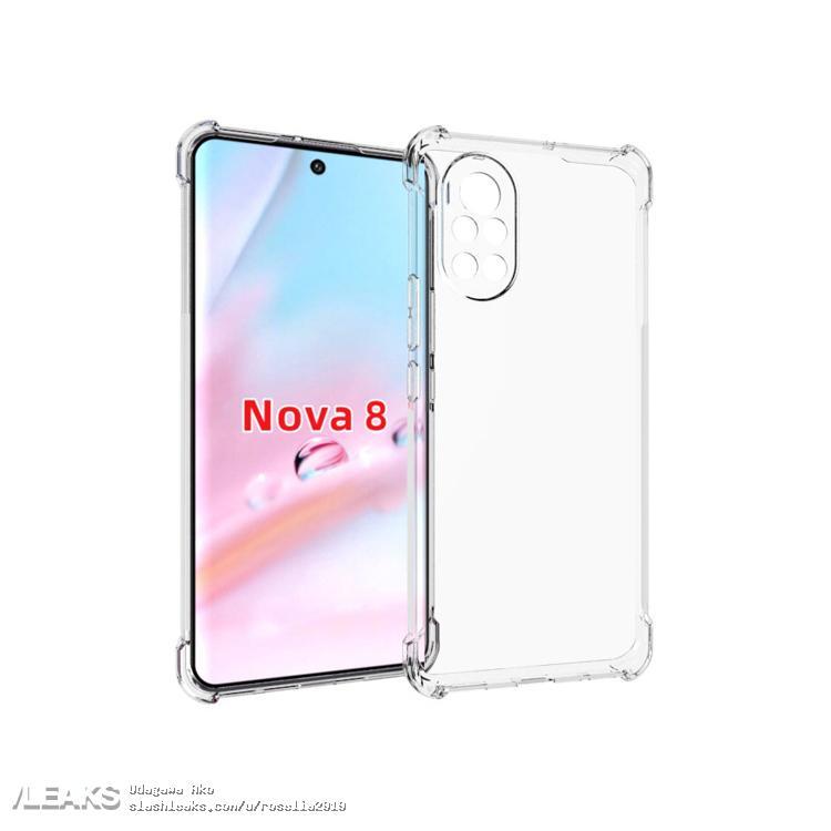 img Huawei Nova 8 5G Case Leaks