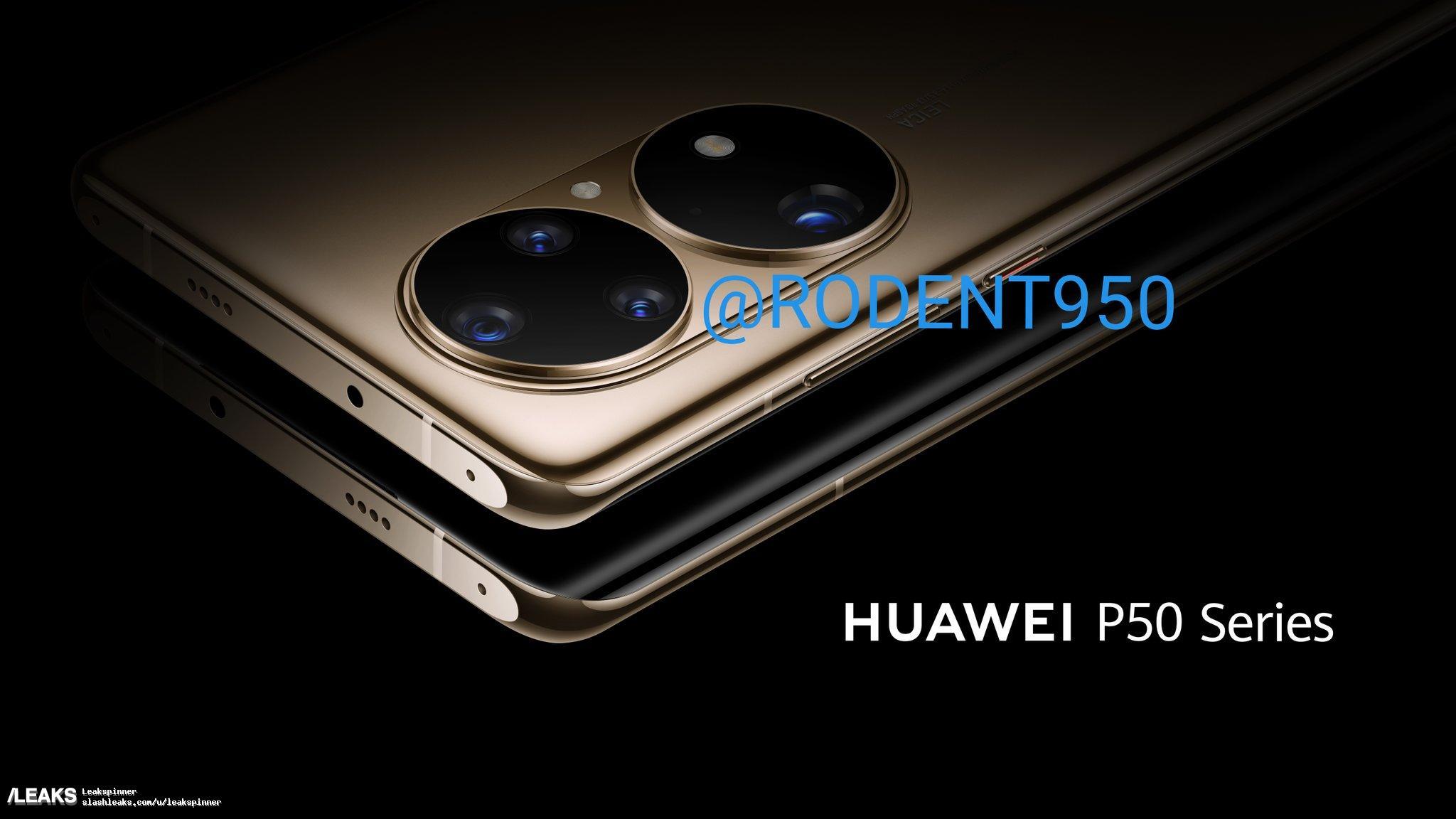 img Huawei P50 Pro press renders leaked