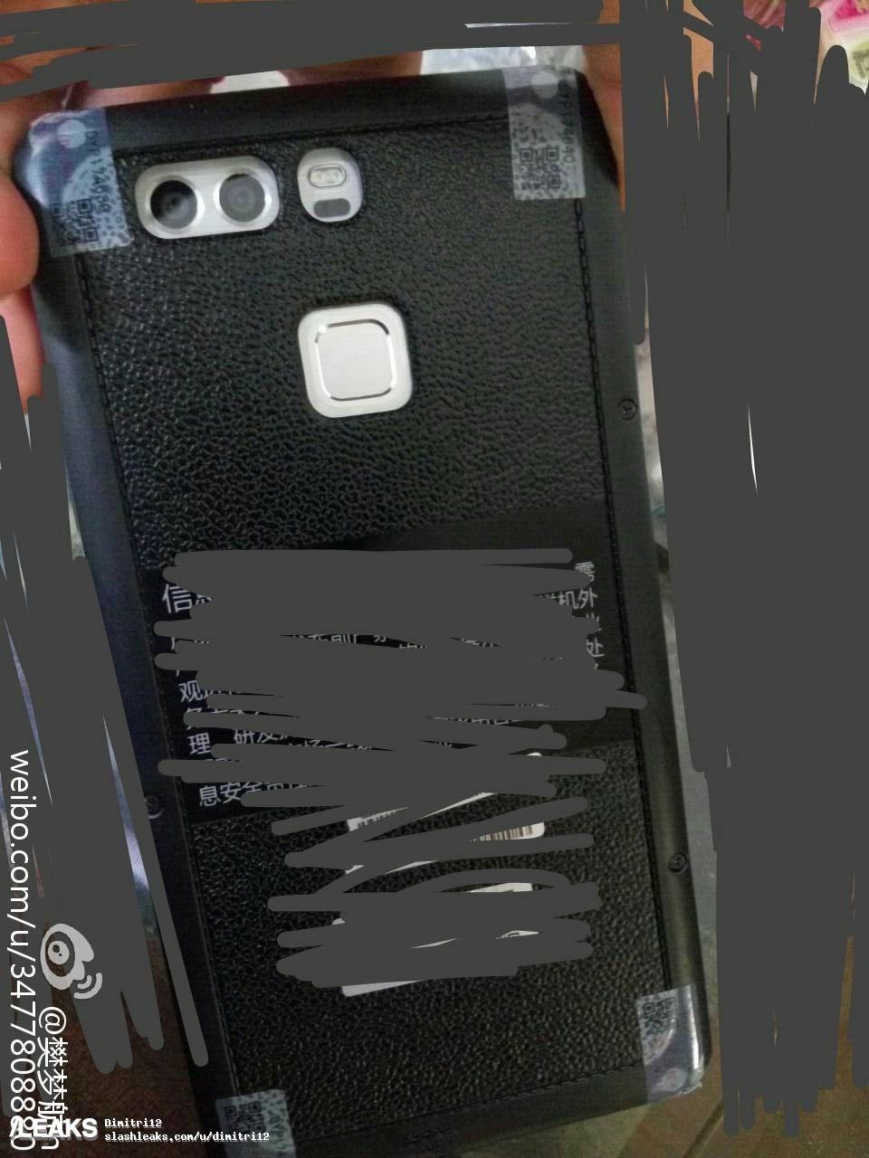 img Huawei P9 prototype confirms dual-camera setup, rear fingerprint sensor