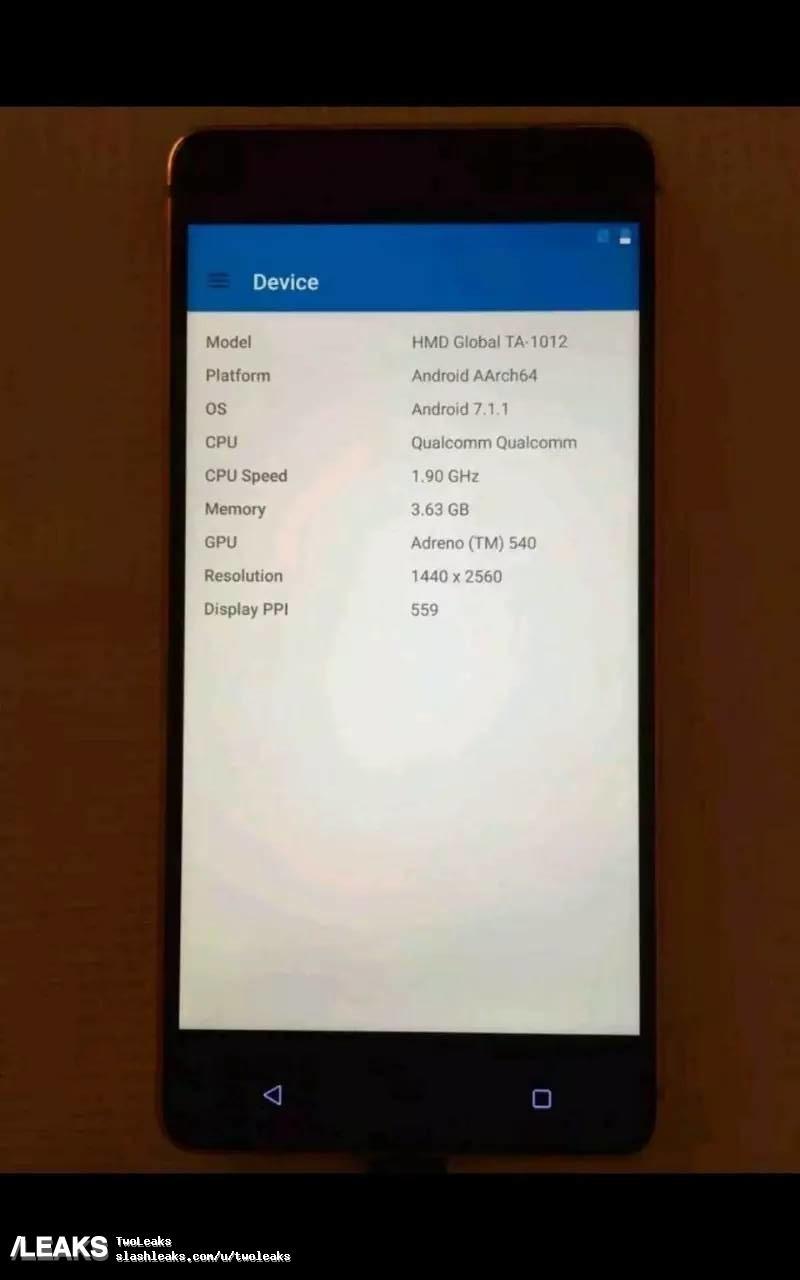 Nokia 8 apare in imagini veridice. Are 4GB RAM si SD835 141