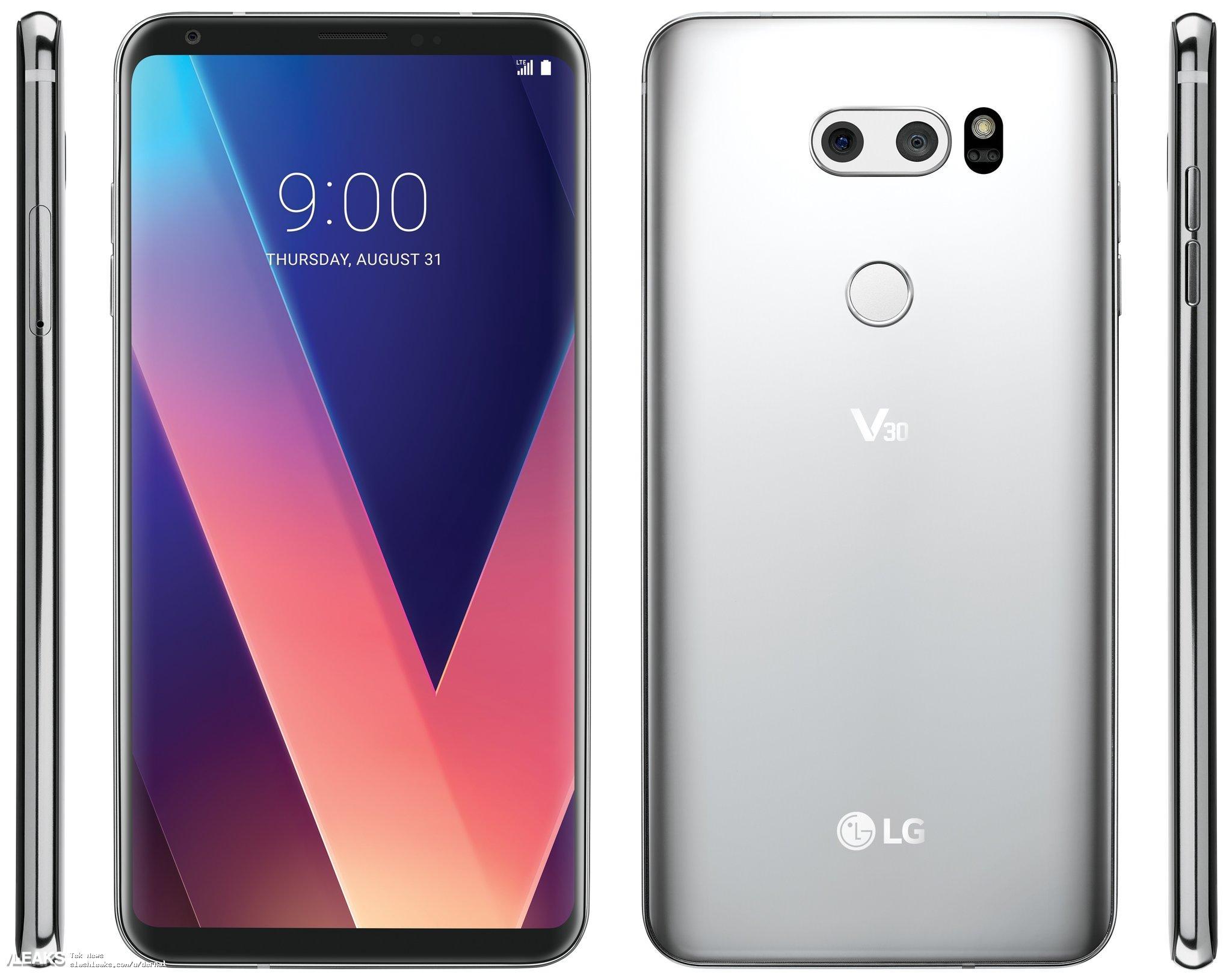 img LG V30 Render (@evleaks)