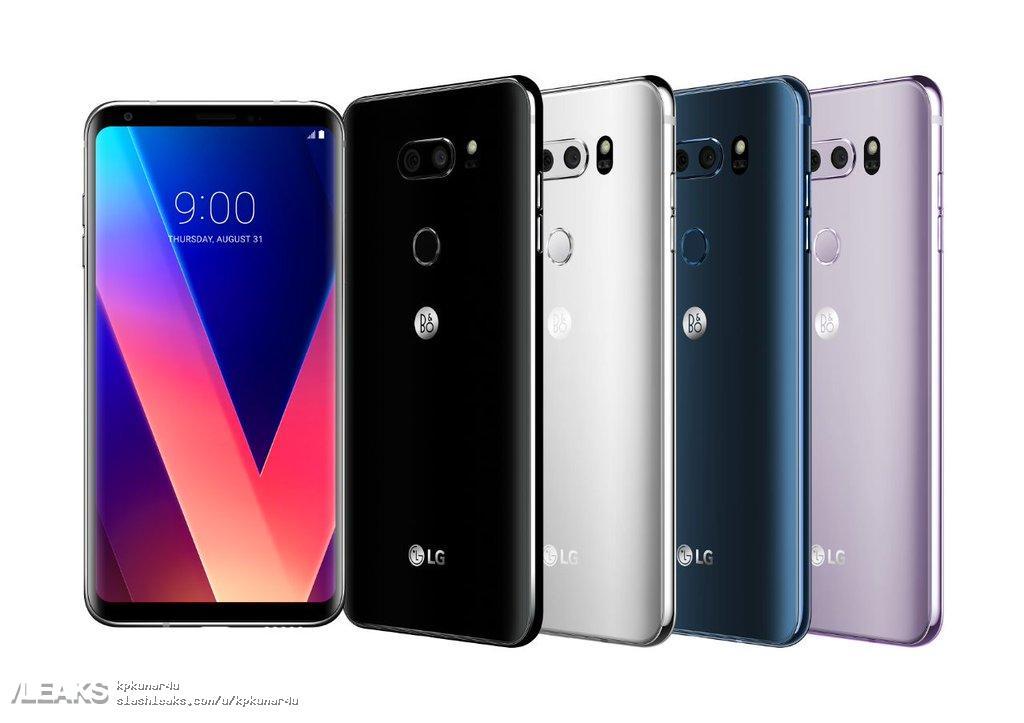 img LG V30 with B&O play logo leaked  by evan blass
