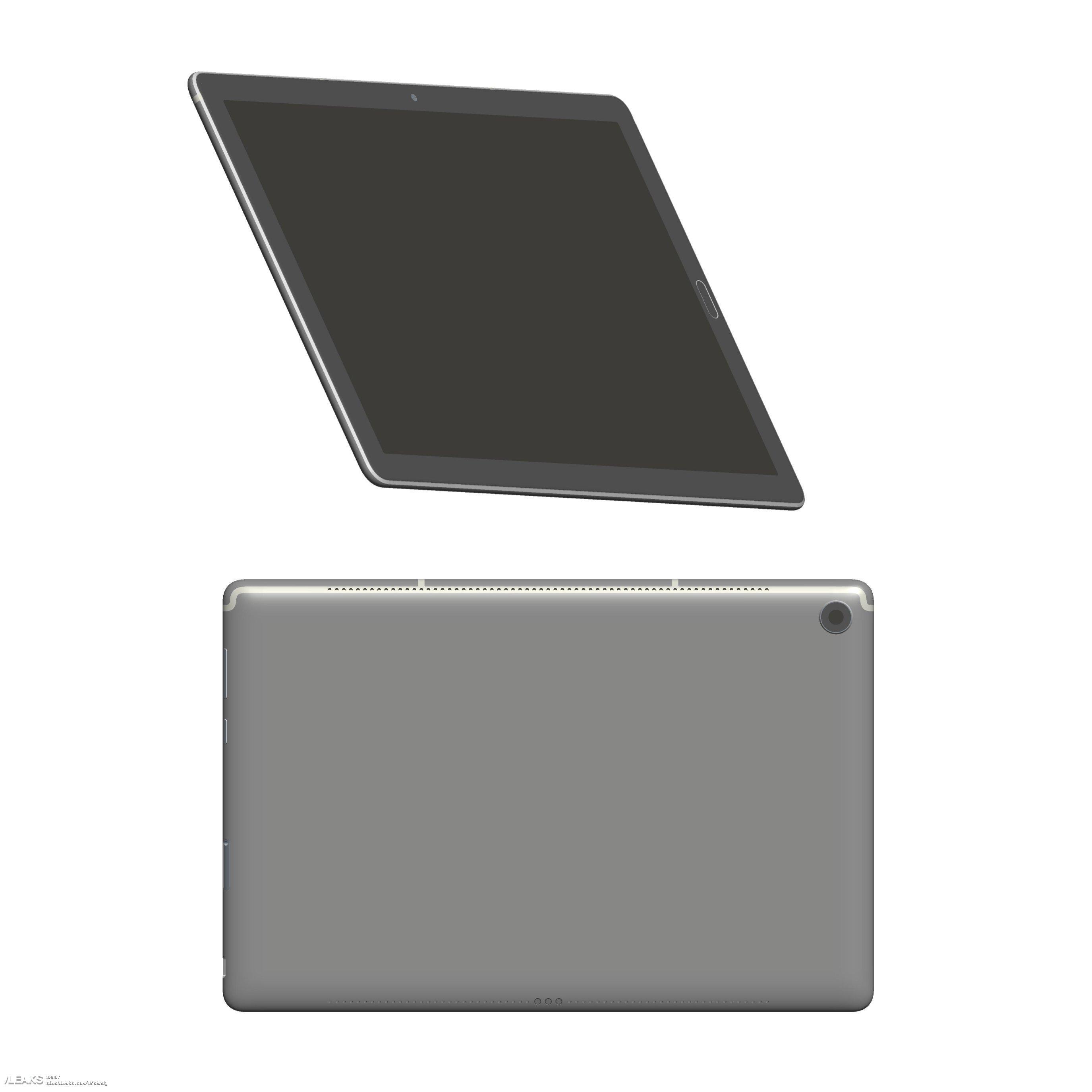 img Huawei mediapad M5 8,4 and 10'1 3D renders