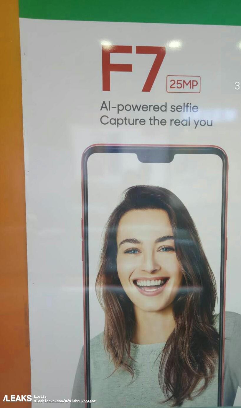 img OPPO F7 25 MP Selfie Camera confirmed